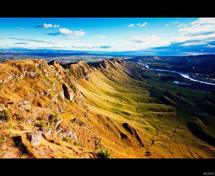 Te Mata Peak - Hawkes Bay NZ