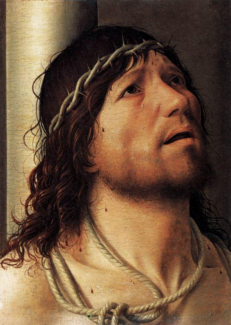 ANTONELLO DA MESSINA (1430 - 1479) | Christ at the Pillory