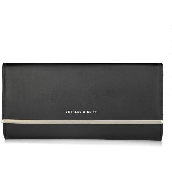 CHARLES & KEITH Snap-Button Closure Wallet $56
