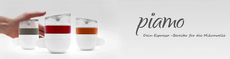 piamo creates a fresh cup of delicious espresso within 30 seconds. Whether you prefer pads or ground coffee, piamo can do both. And in no time you will enjoy your personal espresso.But without your help there will be no piamo! Become part of this adv...