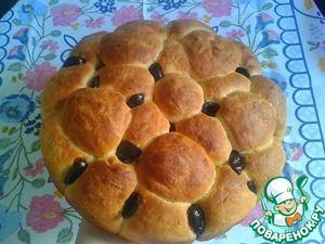 Оливковый хлеб (эльопсомо)