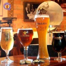 Deguste o peculiar chopp e descubra os segredos da alquimia de cerveja no Tour Cervejaria Bohemia.   Try a peculiar draft beer and discover the secrets of the beer alchemy.