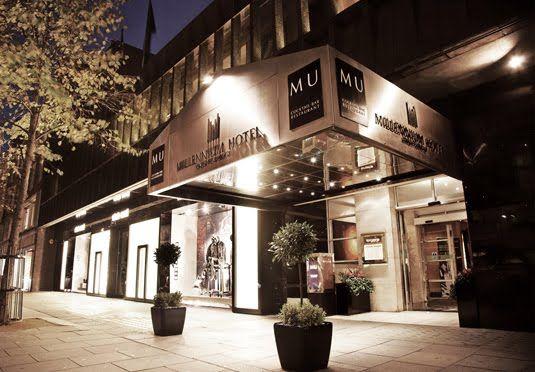 Hotell i fasjonable Knightsbridge, like ved det berømte varemagasinet Harrods – inkludert frokost