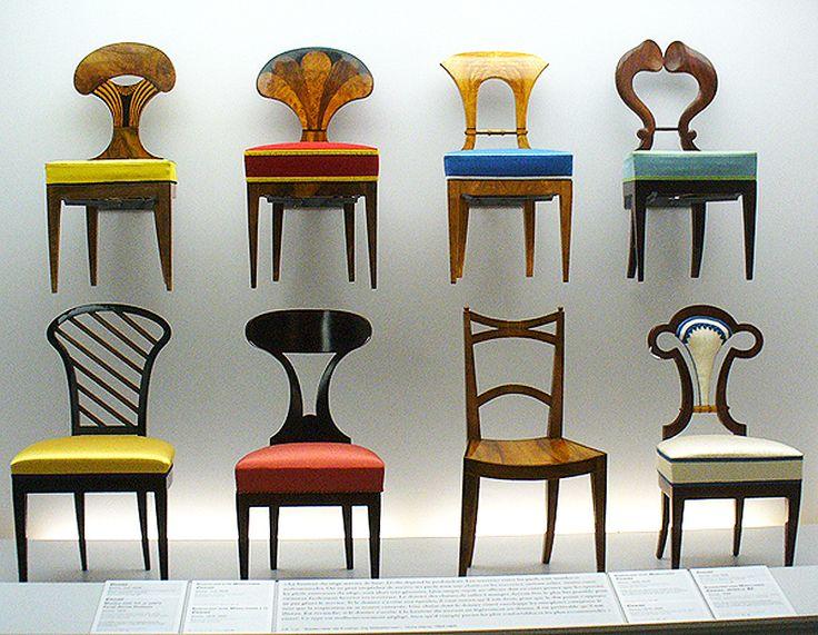 Biedermeier chairs