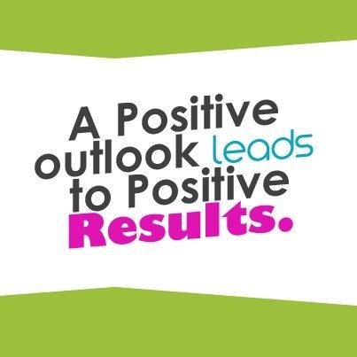 A Positive Outlook.....