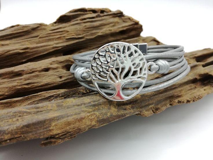 Armband Lebensbaum mit Magnetverschluss
