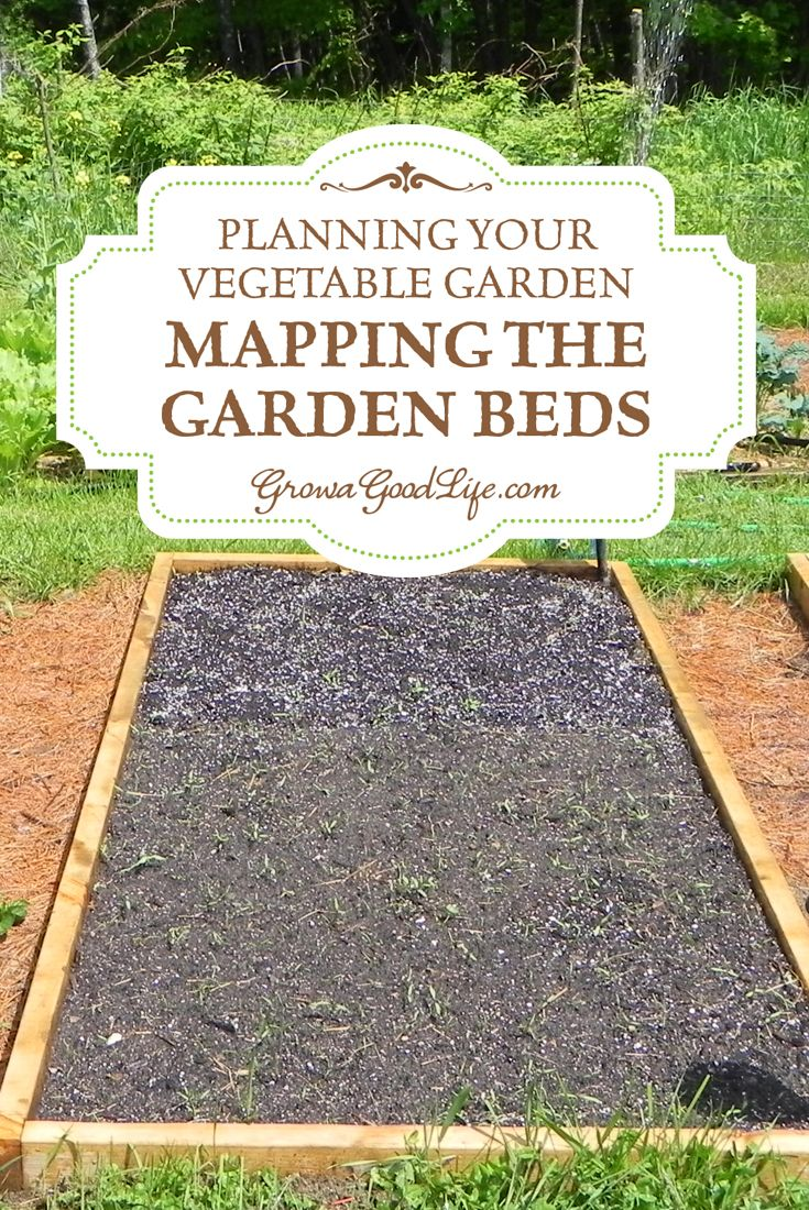 Planning your vegetable garden mapping the garden beds for Planning a fruit and vegetable garden