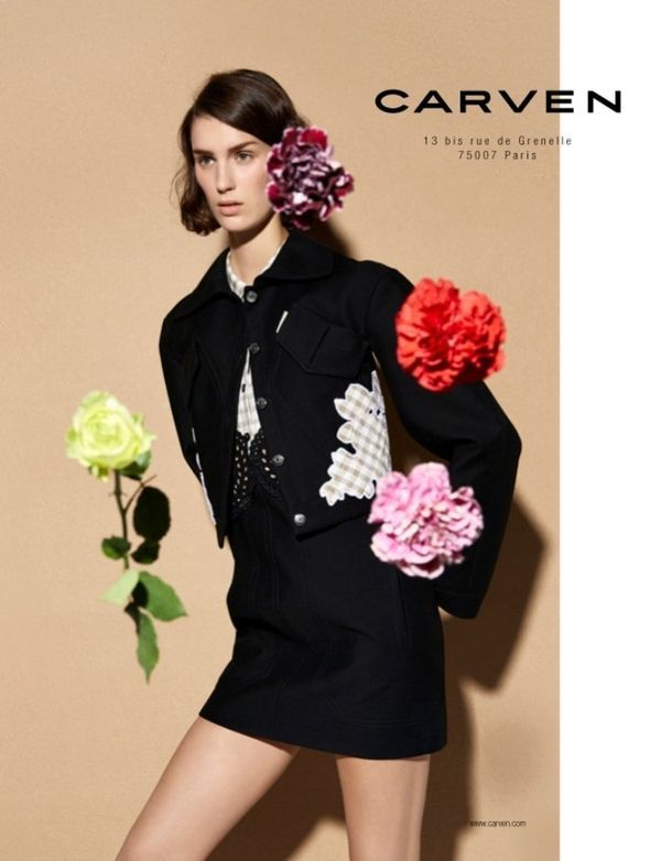 flower fashion campaign - Buscar con Google