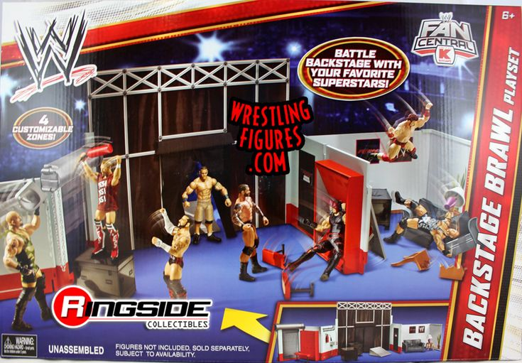 WWE Backstage Brawl Playset | Ringside Collectibles