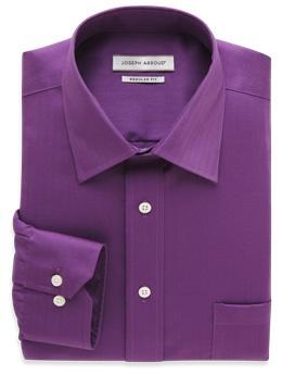 Deep purple dress shirt