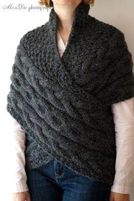 MonDu .robótkowanie.: ...sweter w turkusie...