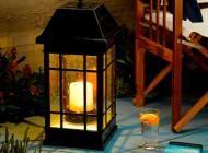San Rafael Estate Solar Mission Lantern