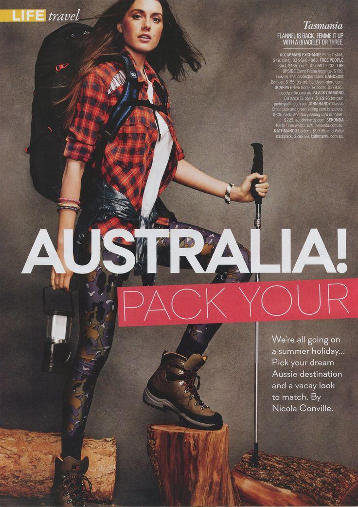 SHOP TILL YOU DROP MAGAZINE - SUMMER ISSUE  http://theupsidesport.com/women/legwear/camo-power-pant/p/7/209