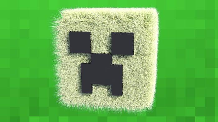 Creeper atractivo Minecraft Fondos de pantalla 1920×1080