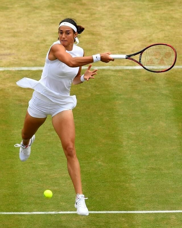 Caroline Garcia Tennis Players Female Tennis Lessons For Kids Tennis Drills