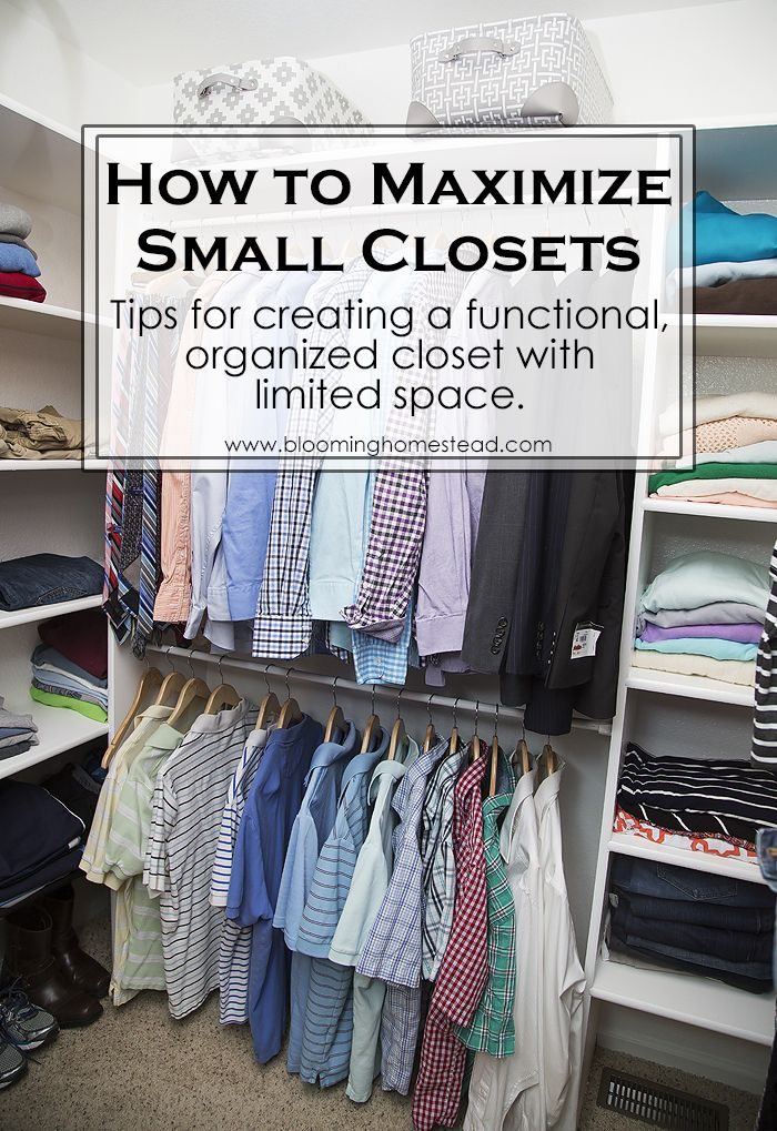 25 Best Ideas About Small Closet Makeovers On Pinterest