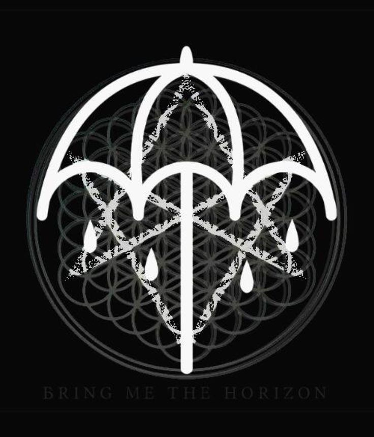 "bringme-horizon: "" All of bring me the horizons logos put together """