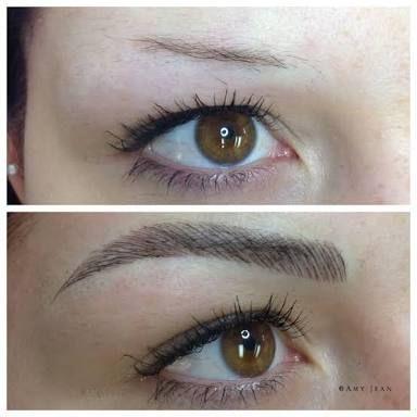 eyebrow feathering tattoo - Google-Suche