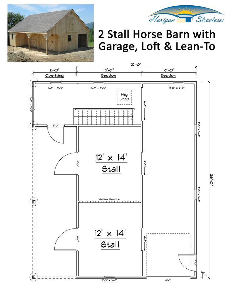 98 best images about horse lean to on pinterest stables for 2 stall barn plans