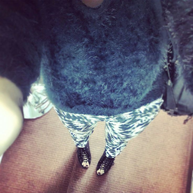 Kookai pants and tony bianco shoes :)