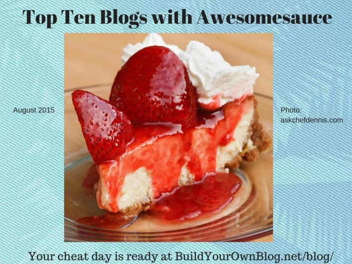 Thanks for the shoutout Build Your Own Blog!!! - Top Ten Blogs (August 2015)