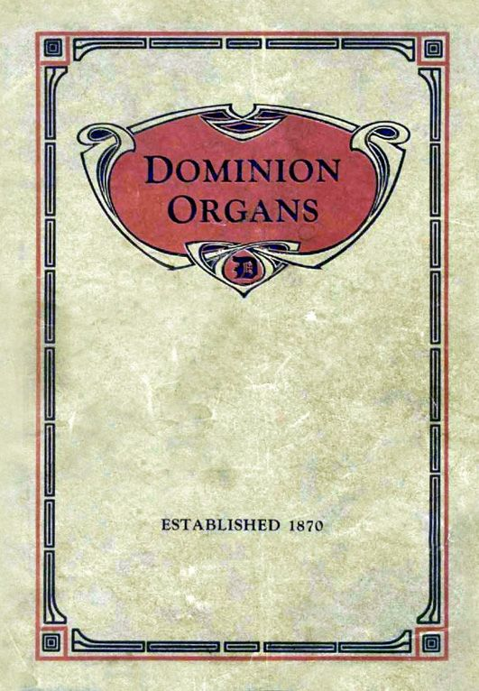 Dominion - 1910 Catalogue