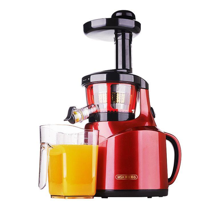 220V 65Rpm Electric Slow Juicer Multifunctional Fruit Vegetable Lemon Juicer Slow Speed Juice Extractor 100% Original Machine