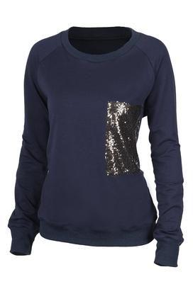 Cupshe Shimmer Me Sequined Sweatshirt