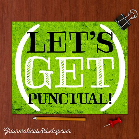how to be punctual at work