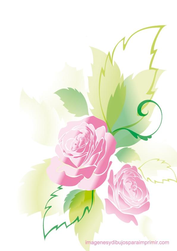 Simple Floral Wallpaper Pattern Print