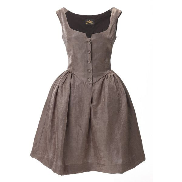 Vivienne Westwood Pannier Dress, found on #polyvore. #dresses #vestidos short dresses vivienne westwood