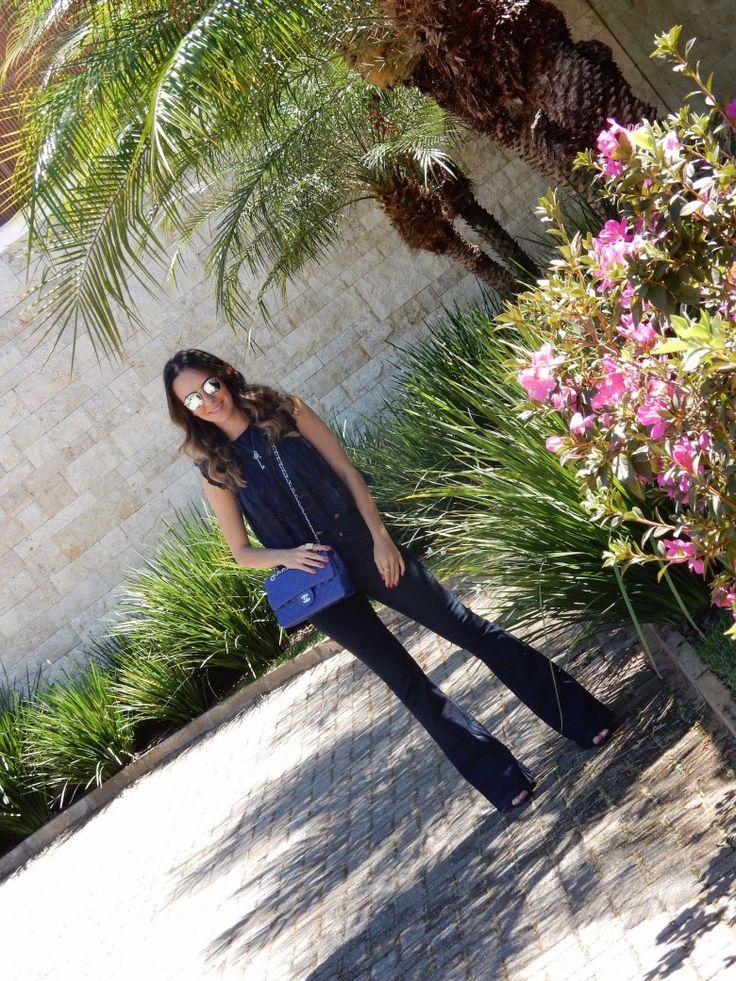 Look do Dia – Azul #gabimay #lookdodia #ootd