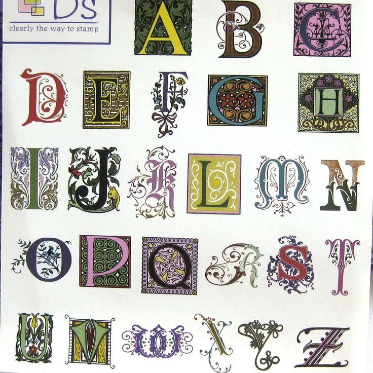 Illuminated Manuscript Font Quilted Alphabet Invented