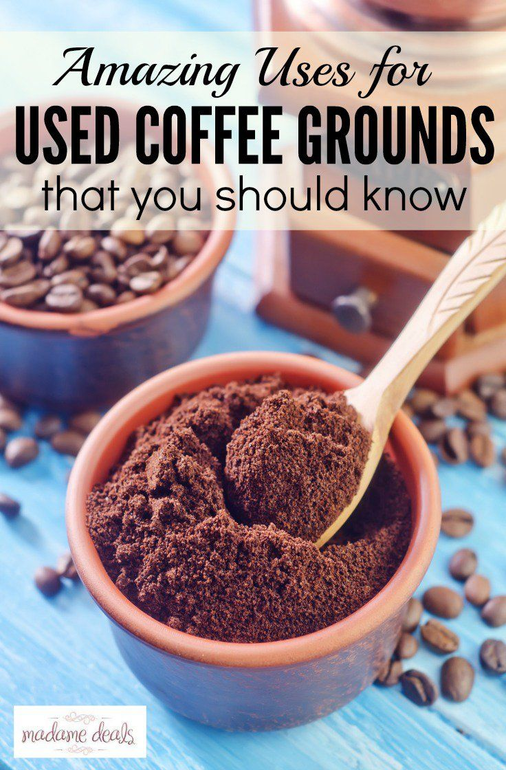 17 Best Ideas About Used Coffee Grounds On Pinterest