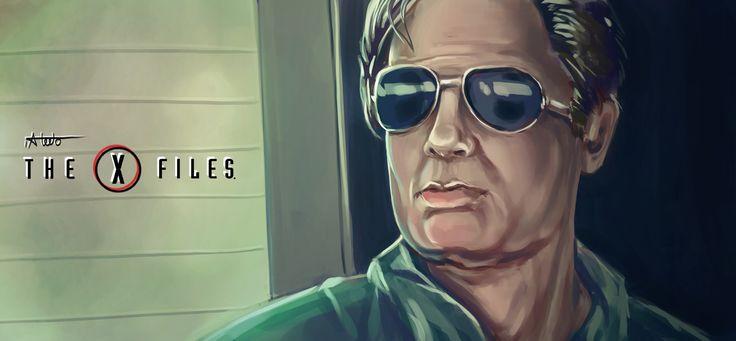 The X Files, Ibrahim Abdo on ArtStation at https://www.artstation.com/artwork/0zmn4