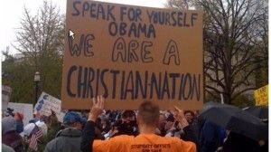 by William Federer Refuting Obama's Statement that America was not a Christian Nation  Read more at http://freedomoutpost.com/2013/12/refuting-obamas-statement-america-christian-nation/#4uUke8Ykgtsv7vXp.99     82% OF AMERICANS ARE CHRISTIANS!!!