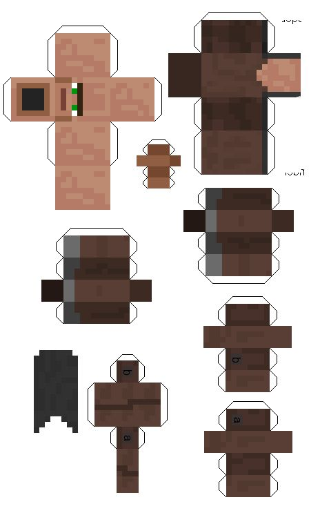 Minecraft papercraft cut outs minecraft party for Minecraft cut out templates