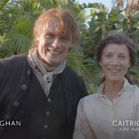 Today is World Outlander Day, which means the love and appreciation is going around the Outlander fandom, particularly for Diana, and of course for the creators, cast and crew of the show. Here is a wee video of Sam and Cait from location in South Africa. The young whipper snappers (Cesar (adult Fergus), John Bell …