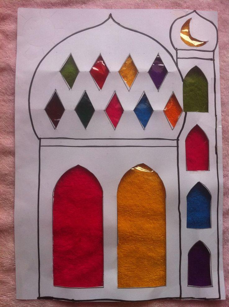 Resultado de imagen de manualidades arte arabe