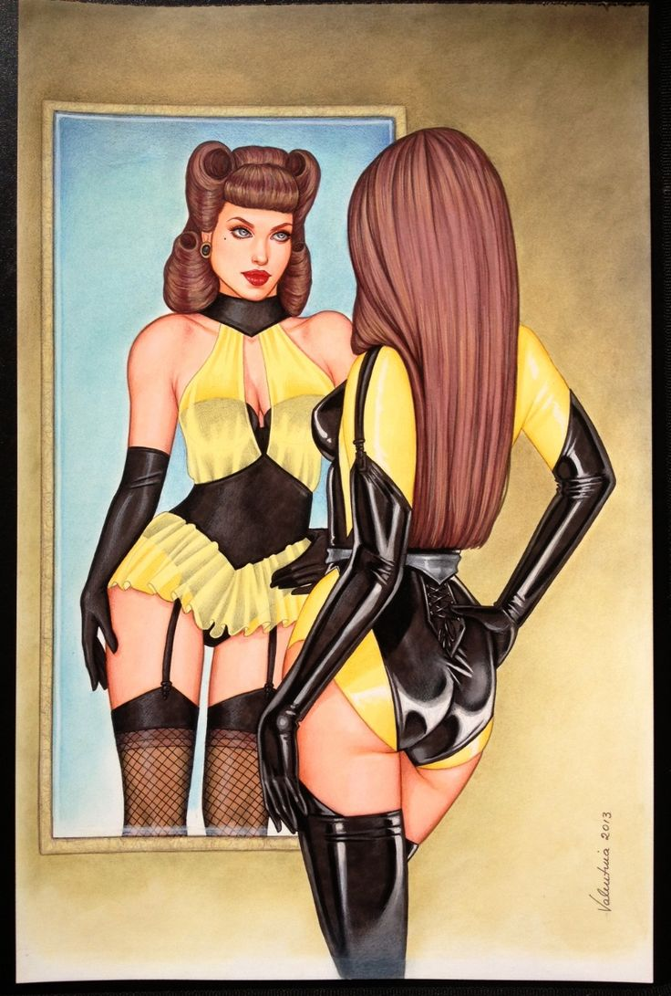 Silk Spectre by Valentina Comic Art