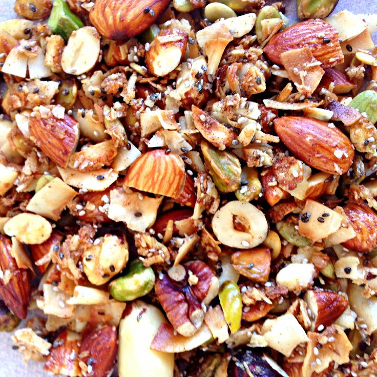 Sugar-free granola: My variation of Sarah Wilson IQUITSUGAR recipe