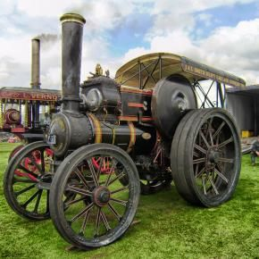Steam Tractor from Pixdaus