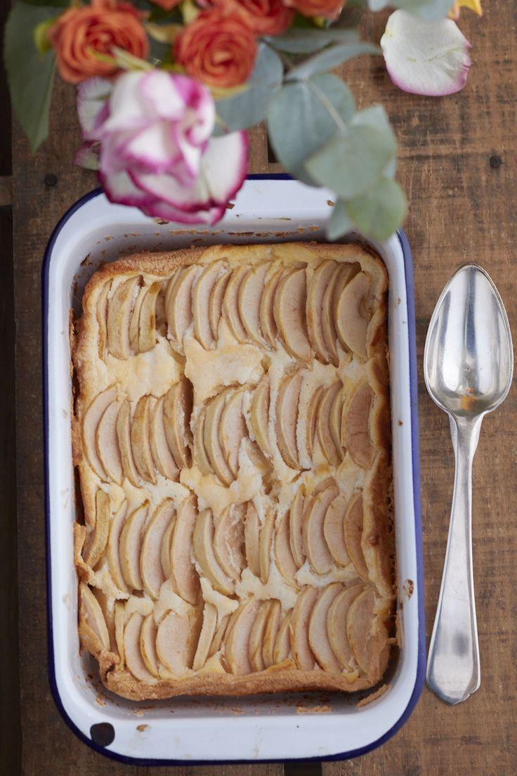 Sehr leckerer Apfelkuchen, der auch als Quarkauflauf durchgeht und dann auch noch so lecker!