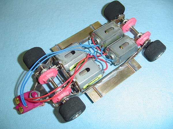 Azary S Four Motor Ford Gt40 Escalextric Chasis Pinterest