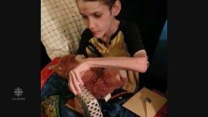 Alex Radita podczas 15. urodzin, na 3 miesiące przed śmiercią