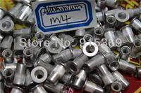 100pcs rivet nut kits M4 M5 M6 M8 insert nut kits Flat Head Aluminum knurled thread Rivet Nut pop pem riveting riv nut