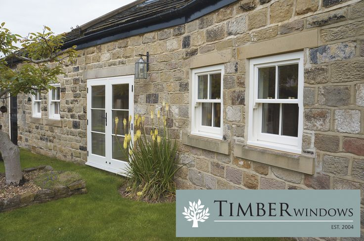A country property with doors and windows from Timber Windows