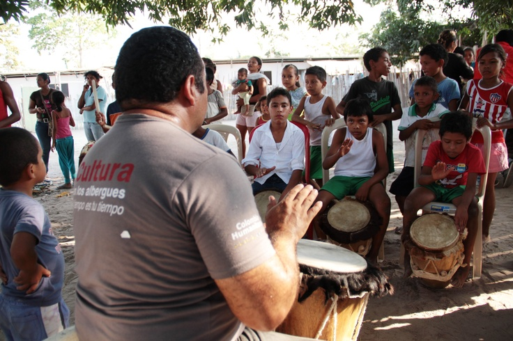 Taller de música tradicional en Cicuco