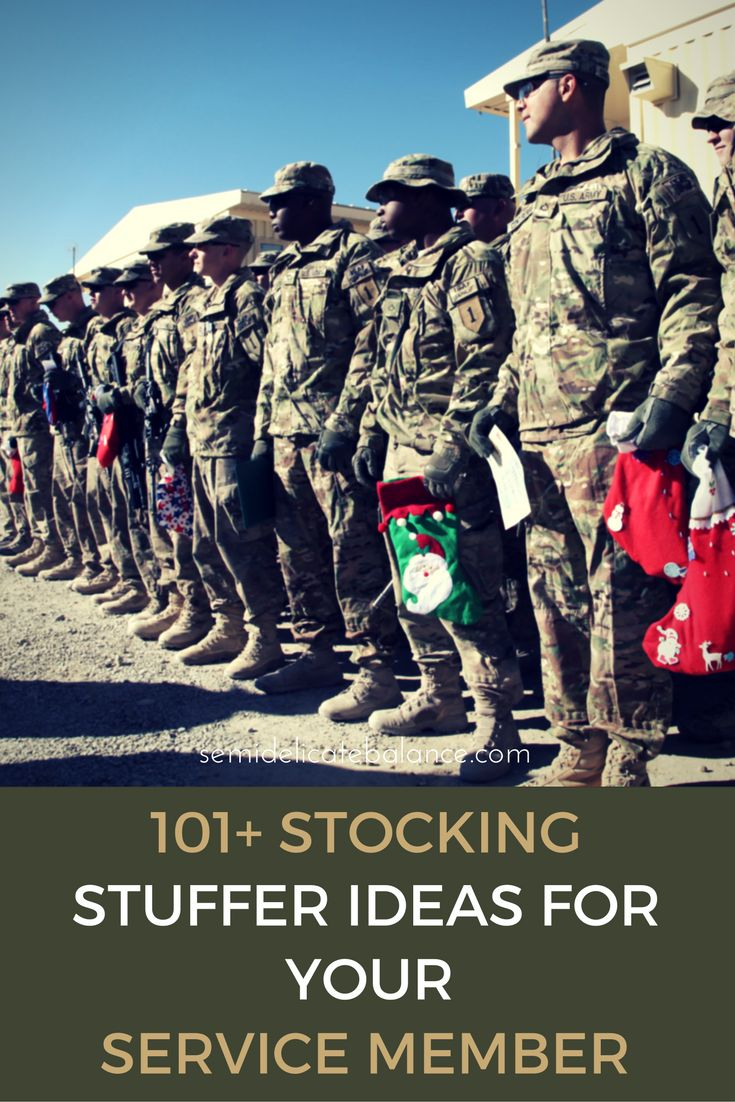 101+ Best Stocking Stuffers Ideas for your Service Member                                                                                                                                                                                 More