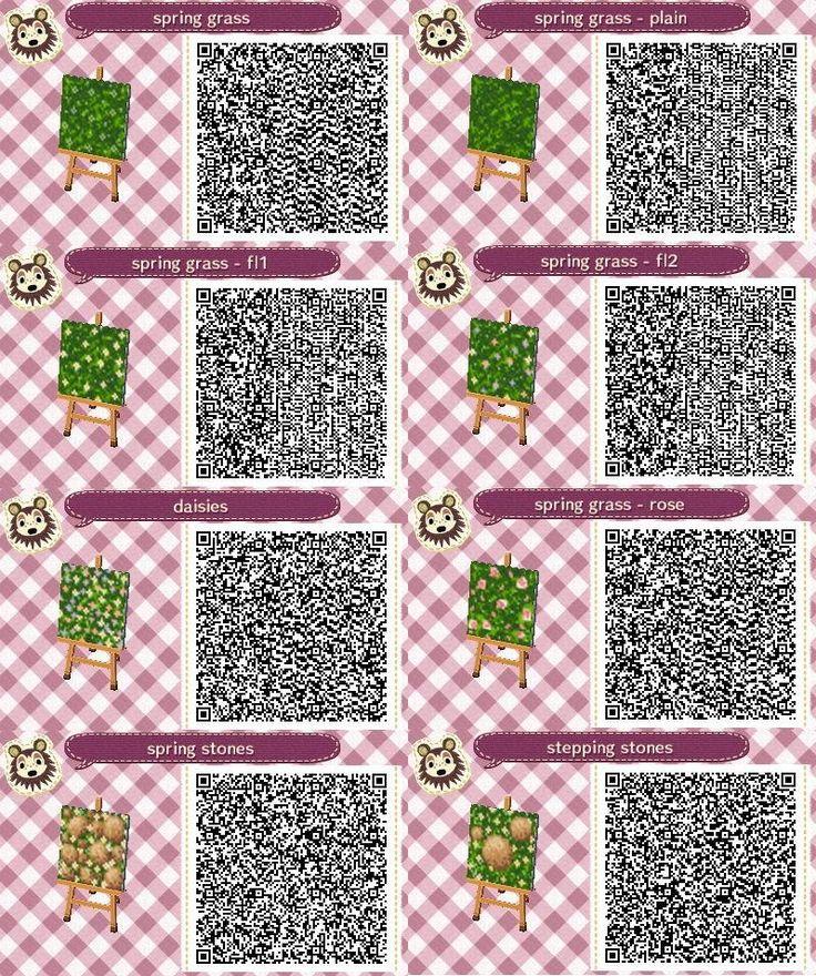 QR codes - (page 64) - Animal Crossing new leaf